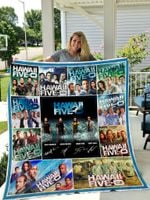 Hawaii Five O Quilt Blanket Great Customized Blanket Gifts For Birthday Christmas Thanksgiving