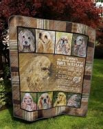 English Cocker Spaniel Dog Quilt Blanket Great Customized Blanket Gifts For Birthday Christmas Thanksgiving