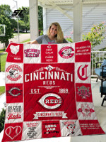Cincinnati Reds Quilt Blanket