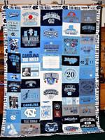 Ncaa North Carolina Tar Heels Quilt Blanket #181