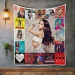 Becky G Album Covers Quilt Blanket