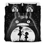 My Neighbor Totoro Black And White Bedding Set (Duvet Cover & Pillow Cases)