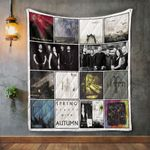 Autumn Album Covers Quilt Blanket