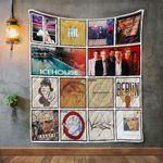 Icehouse Album Covers Quilt Blanket