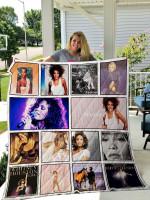 Whitney Houston Quilt Blanket