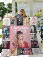 Ariana Grande Quilt Blanket