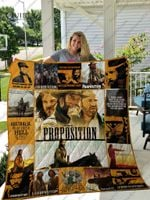 The Proposition T-Shirt Quilt Blanket
