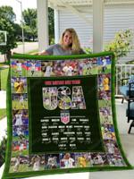 United States Women's National Soccer Team Quilt Blanket