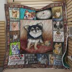 Chihuahua Most Dogs Have Owners Chihuahuas Have Staff Quilt Blanket Great Customized Blanket Gifts For Birthday Christmas Thanksgiving