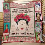 Frida Kahlo Quilt Blanket