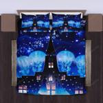 Frozen Anna And Elsa 3d Printed Bedding Set (Duvet Cover & Pillow Cases)