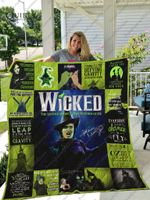 Idina Menzel – Wicked The Musical Quilt Blanket Ver 17