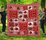 Ncaa Cornell Big Red Quilt Blanket #1525