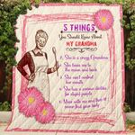 5 Things You Should Know About My Grandma Quilt Blanket Great Customized Gifts For Birthday Christmas Thanksgiving