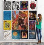 Carlos Santana Albums Quilt Blanket 02