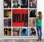 Bob Dylan Compilation Albums Quilt Blanket 01