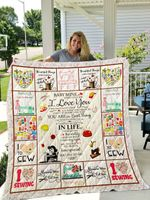 Sewing You Are The Best Thing That Ever Happened To Me Quilt Blanket Great Customized Blanket Gifts For Birthday Christmas Thanksgiving