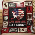 Baseball All About That Base Quilt Blanket Great Customized Gifts For Birthday Christmas Thanksgiving Perfect Gifts For Baseball Lover