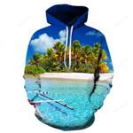 Beautiful Hawaii Beach 3D – 3D Hoodie For Men Women All Over 3D Printed Hoodie