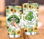 Weed Tumbler Don't Care Bear Not Today Bitch Stainless Steel Vacuum Insulated Double Wall Travel Tumbler with Lid, Tumbler Cups for Coffee/Tea, for Birthday Christmas Thanksgiving