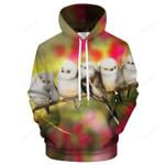 Cute Morning Birds 3D Sweatshirt Hoodie Pullover