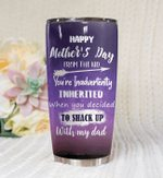 Happy Mother'S Day From The Kid Stainless Steel Tumbler Perfect Gifts For Mom