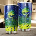 Personalized Mahi Mahi fishing Tumbler Cup Fishing mug gift for fisherman - Tumbler 20oz
