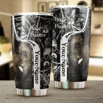 Personalized Boar Hunting Customize name Tumbler Cup Hunting gift for hunter - Tumbler 20oz