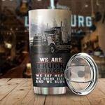 We Are Truck Drivers Stainless Steel Tumbler Cup | Travel Mug | Colorful | K1171 - Tumbler 20oz