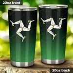 Triskelion Irish St Patrick's Day Stainless Steel Tumbler Cup | Travel Mug | Colorful - Tumbler 20oz