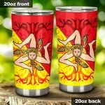 Tree Of Life Stainless Steel Tumbler Cup | Travel Mug | Colorful - Tumbler 20oz
