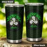 Tree Of Life Irish St Patrick's Day Stainless Steel Tumbler Cup   Travel Mug   Colorful - Tumbler 20oz