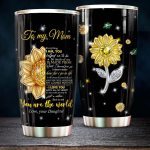 To My Mom From Daughter – I'm Always With You Stainless Steel Tumbler Cup | Travel Mug | Colorful - Tumbler 20oz