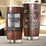 Sutter Home Wine O'clock Stainless Steel Tumbler Cup | Travel Mug | Colorful - Tumbler 20oz