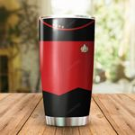 Star Red Stainless Steel Tumbler Cup | Travel Mug | Colorful - Tumbler 20oz