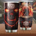 Skull Stainless Steel Tumbler Cup | Travel Mug | Colorful | K1083 - Tumbler 20oz
