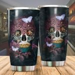 Skull Limited Edition Stainless Steel Tumbler Cup | Travel Mug | Colorful - Tumbler 20oz