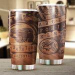 Recently Deceased Stainless Steel Tumbler Cup | Travel Mug | Colorful - Tumbler 20oz