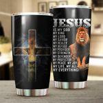 Jesus My Everything Stainless Steel Tumbler Cup | Travel Mug | Colorful - Tumbler 20oz