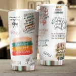 It Is Well With My Soul Stainless Steel Tumbler Cup | Travel Mug | Colorful - Tumbler 20oz