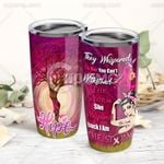 I Am The Storm Breast Cancer Warrior Stainless Steel Tumbler Cup | Travel Mug | Colorful - Tumbler 20oz