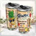 Hawaii Aloha Stainless Steel Tumbler Cup   Travel Mug   Colorful - Tumbler 20oz