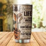 Golf Game Life Stainless Steel Tumbler Cup | Travel Mug | Colorful - Tumbler 20oz