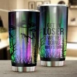 Get In Loser Ailens Stainless Steel Tumbler Cup | Travel Mug | Colorful - Tumbler 20oz