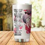 Flamingo Stainless Steel Tumbler Cup   Travel Mug   Colorful - Tumbler 20oz