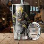 Firemen Limited Edition Stainless Steel Tumbler Cup | Travel Mug | Colorful | K1145 - Tumbler 20oz