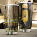 Firefighter Stainless Steel Tumbler Cup | Travel Mug | Colorful - Tumbler 20oz