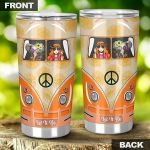 Elephant Hippie Stainless Steel Tumbler Cup | Travel Mug | Colorful - Tumbler 20oz
