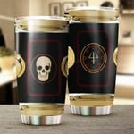 Drums Stainless Steel Tumbler Cup | Travel Mug | Colorful - Tumbler 20oz