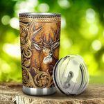 Deer Hunting Stainless Steel Tumbler Cup | Travel Mug | Colorful - Tumbler 20oz